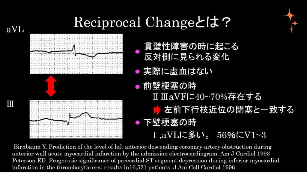 Reciprocal changeの説明